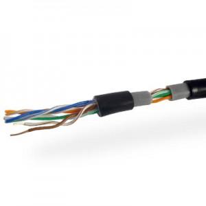 Кабель UTP 4х2 (0.51) CCA внешний черный