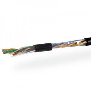 Кабель UTP 4х2 (0.51) CCA внешний черный 1jac